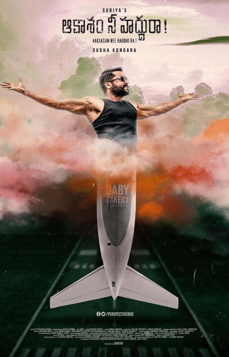Never Give up on your Dreams. Passion wings drive you. Raised fist #AakaasamNeeHaddhuRa #SooraraiPottru  @Suriya_offl Folded hands #SudhaKongara Clapping hands signClapping hands sign @Aparnabala2 Red heart @2D_ENTPVTLTD @rajsekarpandian @PrimeVideoIN @SonyMusicSouth @sikhyaent