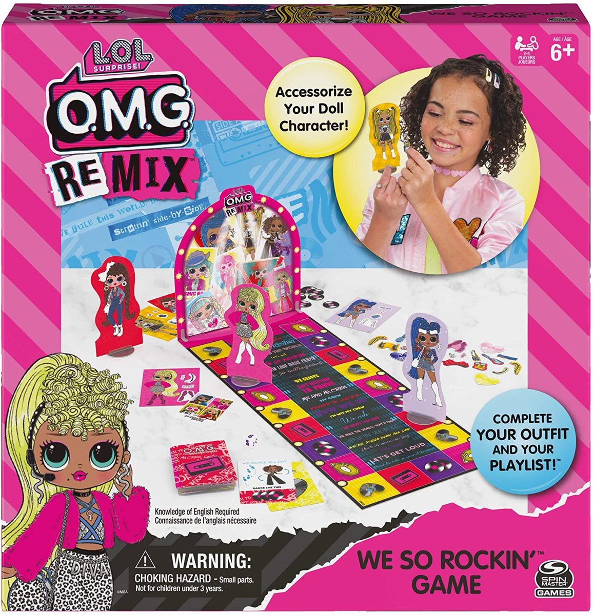 PRICE DROP  Spin Master Games L.O.L. Surprise! OMG We So Rockin'  Only $7.49!!  2