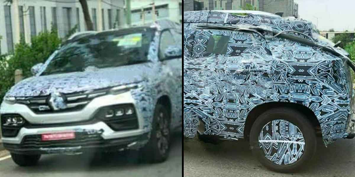 Another #spy image revealed revealing the tail light and headlight design of the #Renault #Kiger Courtesy: https://t.co/TqBZbR1Eta https://t.co/rZFIoxAYN4