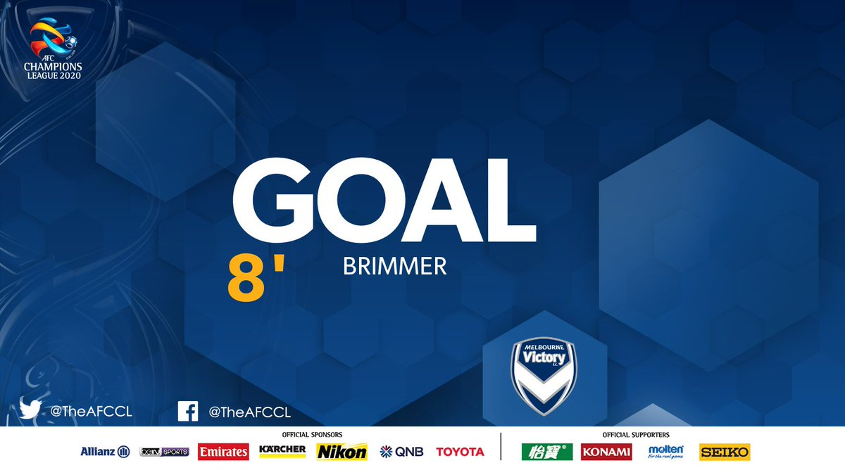 GOAL!  | 🇹🇭 Chiangrai United 0-1 @gomvfc 🇦🇺  ❄️ Cool as you like. Jake Brimmer converts from the spot to give his side the early lead.   #CRUvMVC | #ACL2020