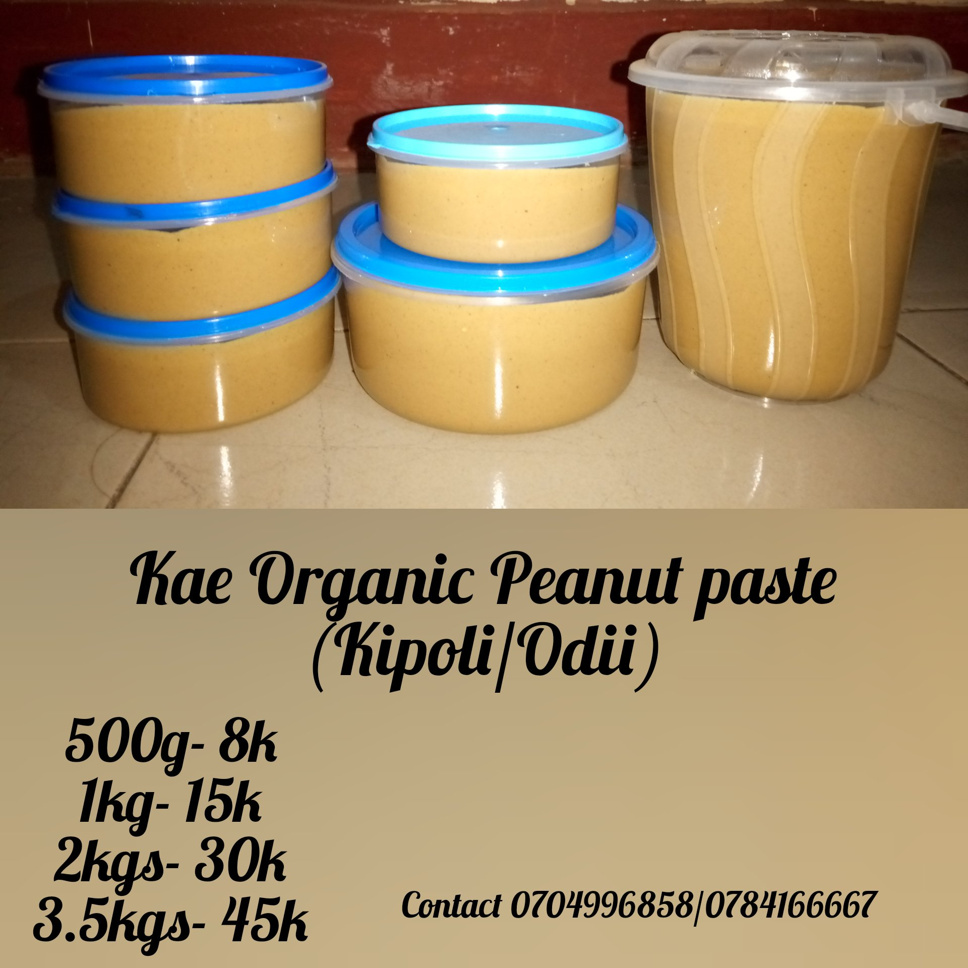 Kae Snacks On Twitter Did You Know Peanut Butter Kipoli Is The Best Additive To Your Snacks For Instance You Can Eat With Bananas Bread Mandazi Buns Even Cookies Please Contact