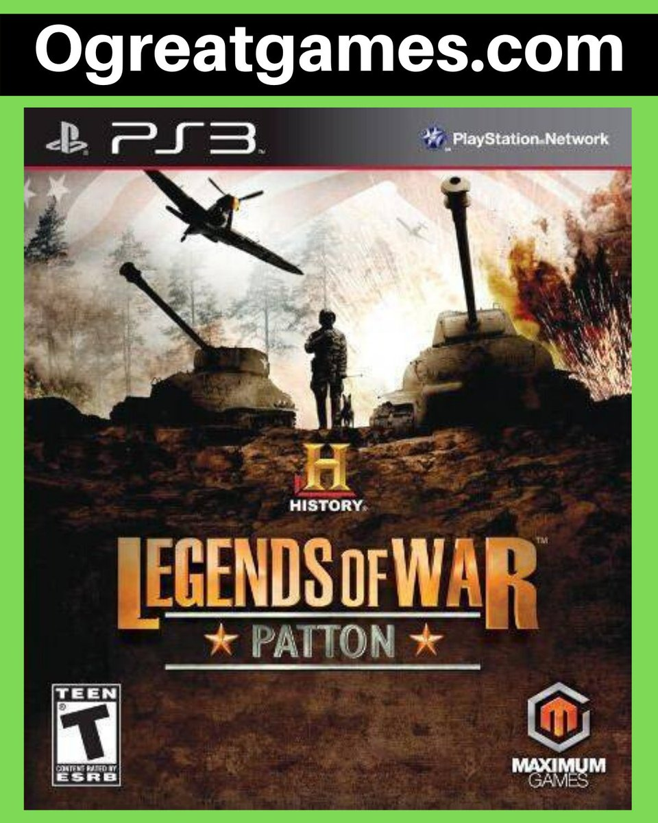 Retweet if you adored History Legends of War Patton! https://t.co/LHveawCXLA #gaming #rt #games #videogamer #playstation3 https://t.co/VI6bcui8Qf