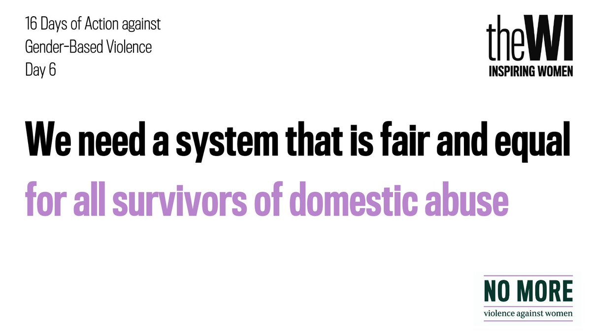 Women from BAME communities may be more susceptible to particular forms of abuse like forced marriage or FGM. They are likely to face additional barriers to receiving the help they need & stay longer in those abusive relationships due to the barriers associated with leaving. 1/2