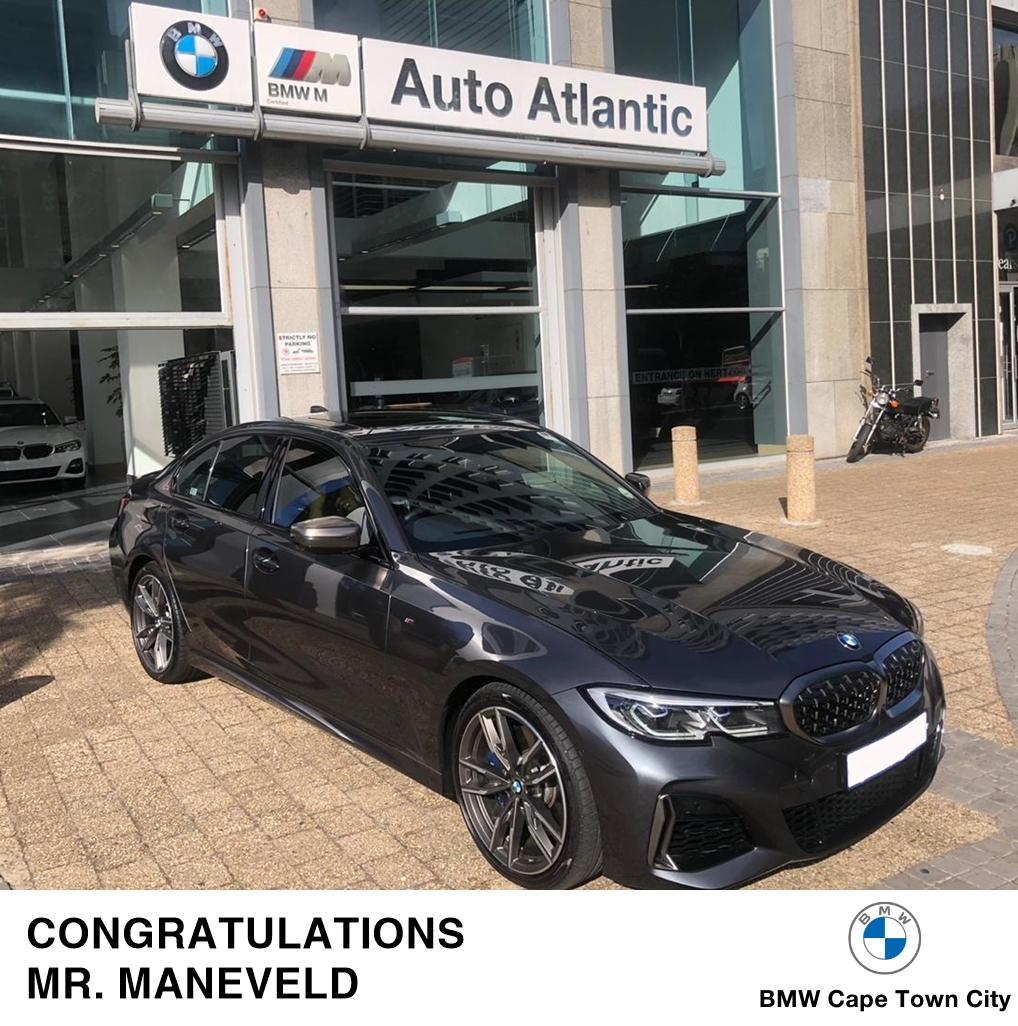 Congratulations on taking delivery of your beautiful BMW M340i, Mr. Maneveld! We wish you many happy motoring miles in your new ride. Sales Executive: Ryan #BMWCapeTownCity #BMW #Deliveries https://t.co/oJv1HTjLTL