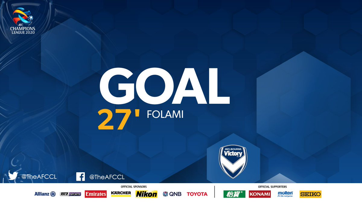 GOAL! | 🇹🇭 Chiangrai United 0-2 @gomvfc 🇦🇺  🍟 Jacob Butterfield sends it over the top to Ben Folami who deftly chips the keeper to double Melbourne's lead.   #CRUvMVC | #ACL2020