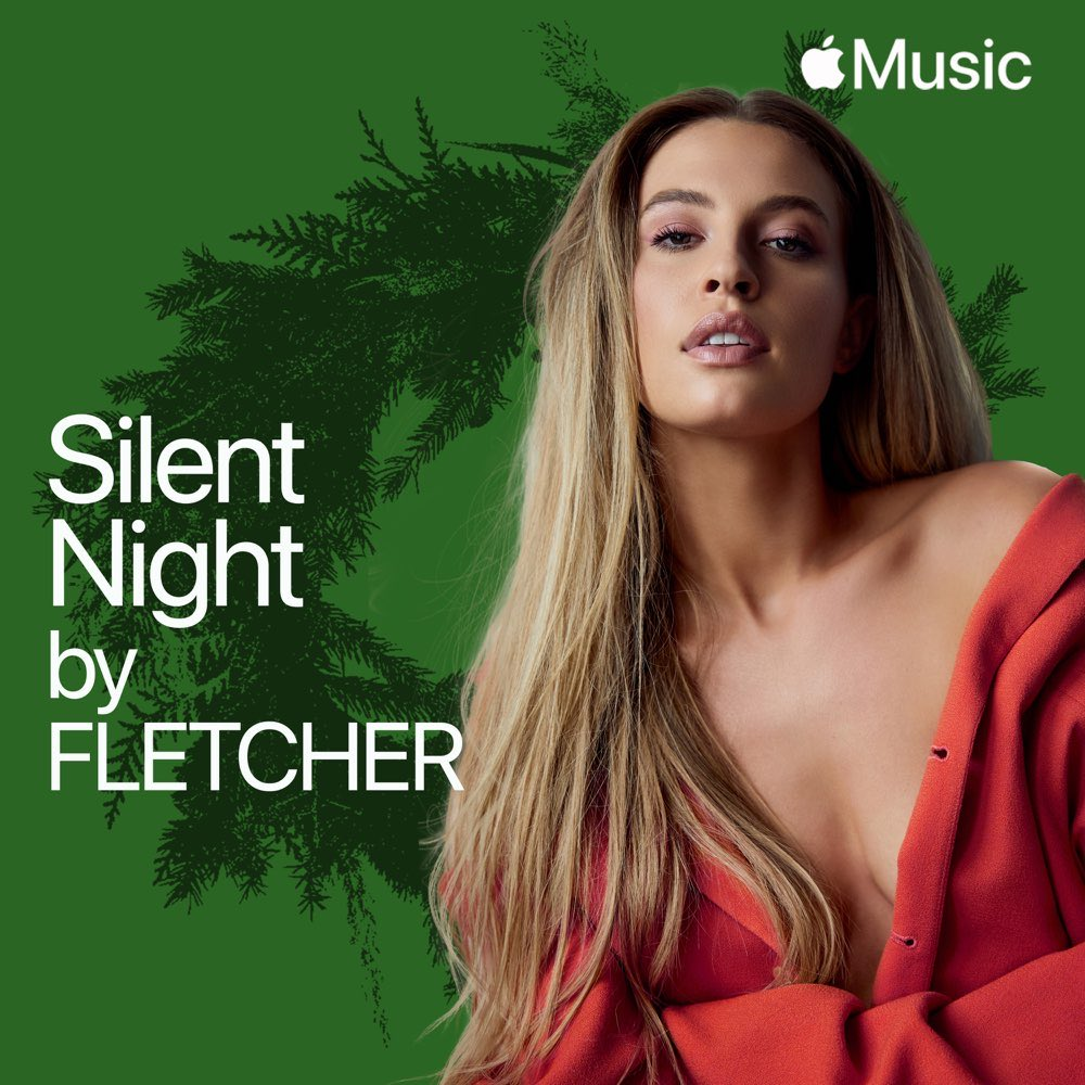 created a special version of #SilentNight just in time for the holidays, produced by my talented friend @teddygeiger. check out my exclusive cover right now on @AppleMusic's #AListPop playlist: