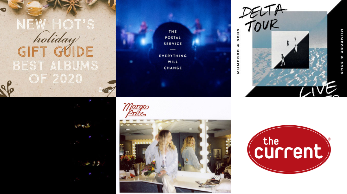 Coming up at 10 p.m. CST on New Hot, @dbsafar has part 2 of your holiday gift guide (best albums of the year), plus hear cuts from new live releases from @MissMargoPrice, the @PostalService, @MumfordAndSons, and @TheWarOnDrugs. Stream: thecurrent.org/listen