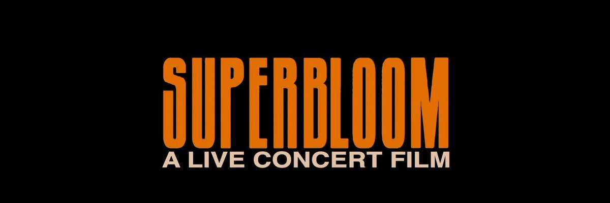 Happy ☝️ month since SUPERBLOOM: A Live Concert Film! I watched it again last night and is still hitting like the first time!!! So proud!!! @Ashton5SOS @JulianBell Andrew Berkeley Martin
