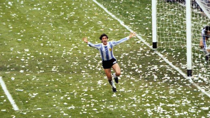 Kempes (Argentina).Mundial Argentina 1978.📷: FIFA.