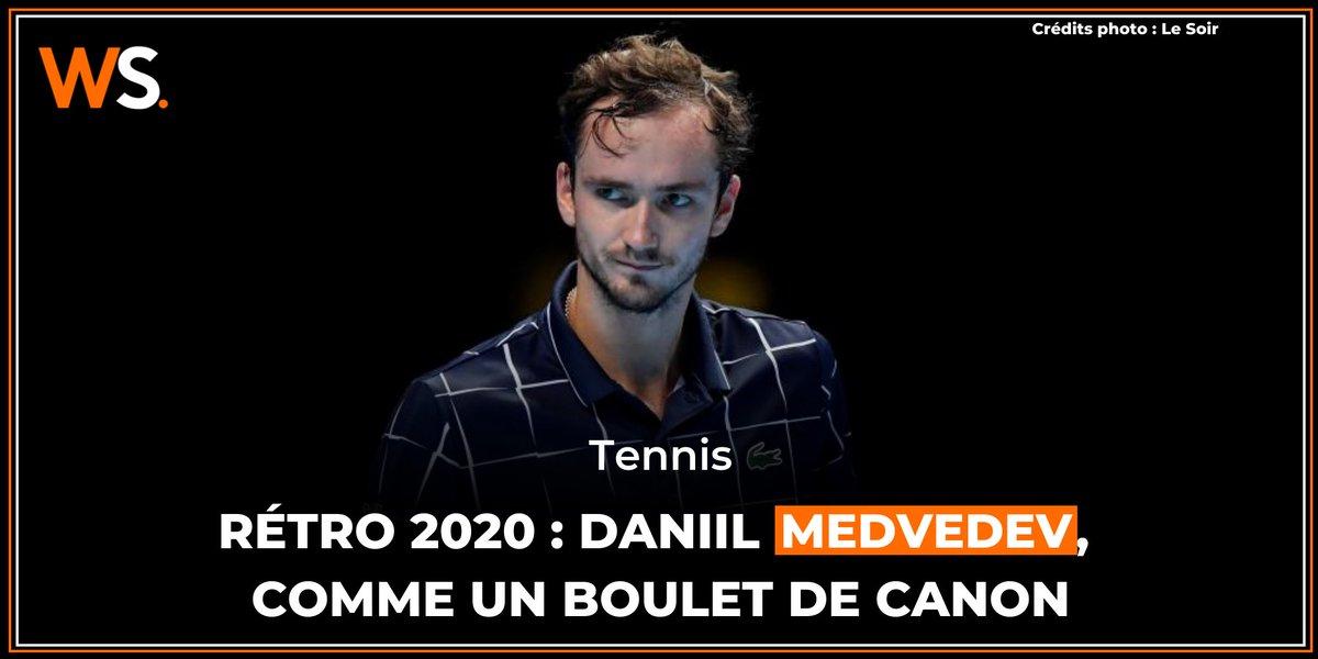 Après un début de saison en demi-teinte, Daniil Medvedev a terminé 2020 en apothéose.   ➡️ Retour sur sa saison : https://t.co/KSHQqcAXRu https://t.co/vDcBoTeQDX