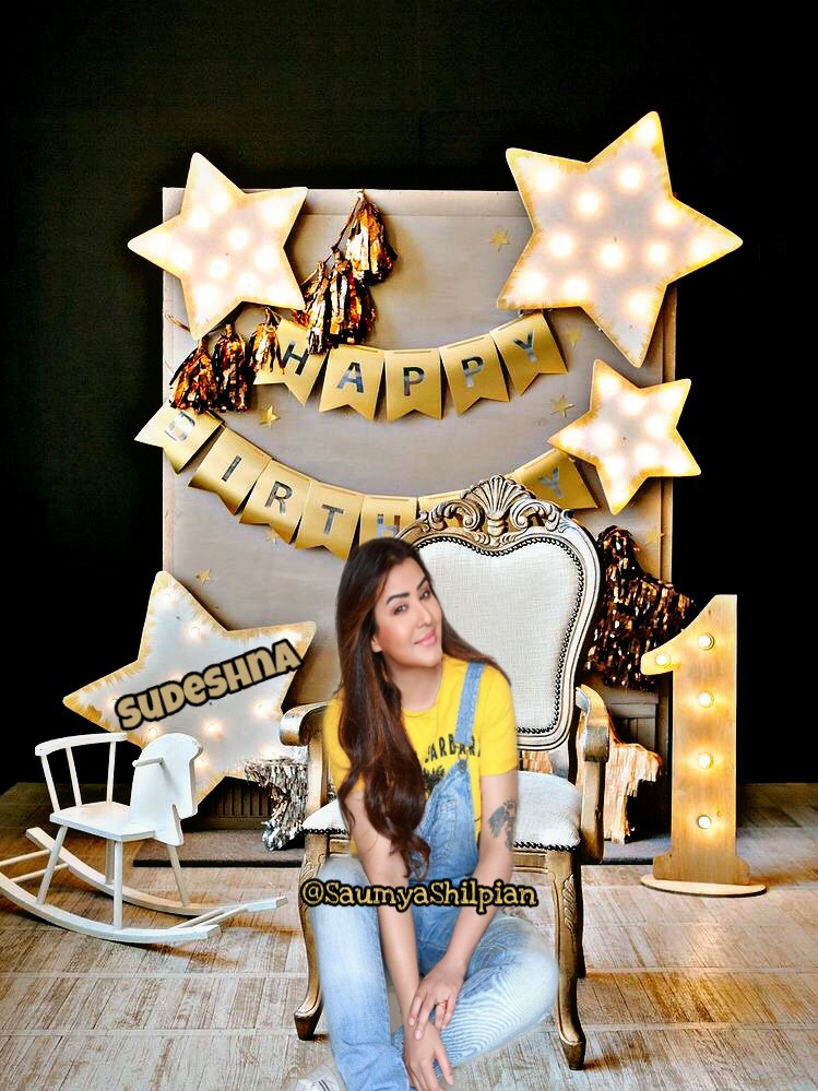 Tum Khush Raho Hazaron Saal aur Saal ke din ho pachaas Hazar  Happy Birthday dear @sudeshnadas711 🎁🎂❤🎊🎉😍  May god bless u wd lots of happiness & success  #HappyBirthdaySudeshna https://t.co/Vo1CGaEp7V