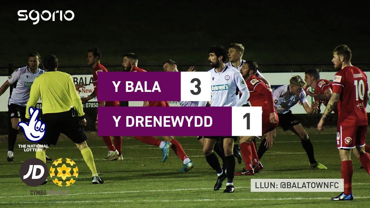 Image for the Tweet beginning: Uchafbwyntiau | Highlights  @BalaTownFC 3-1 @NewtownAFC