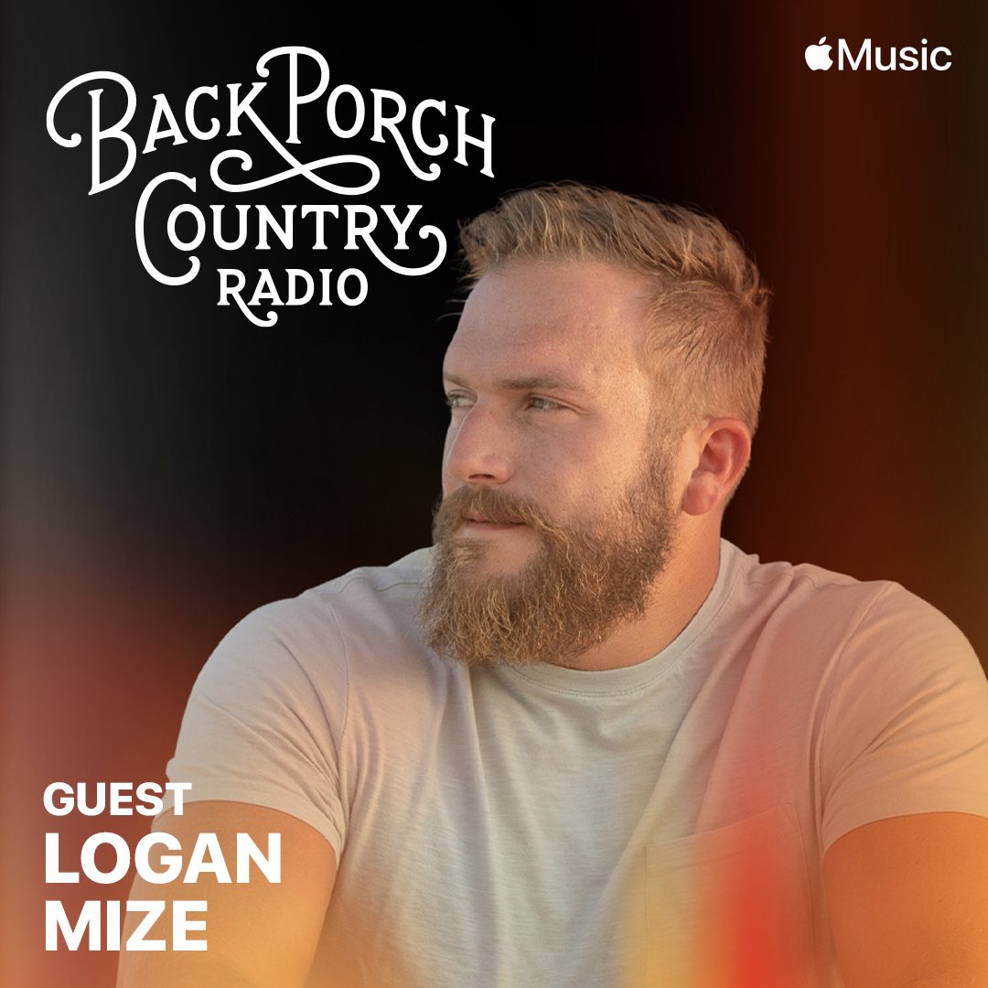 Joining @aleciadavis on #BackPorchCountry Radio this week at 8pm CST! Check it out on Apple Music Country.