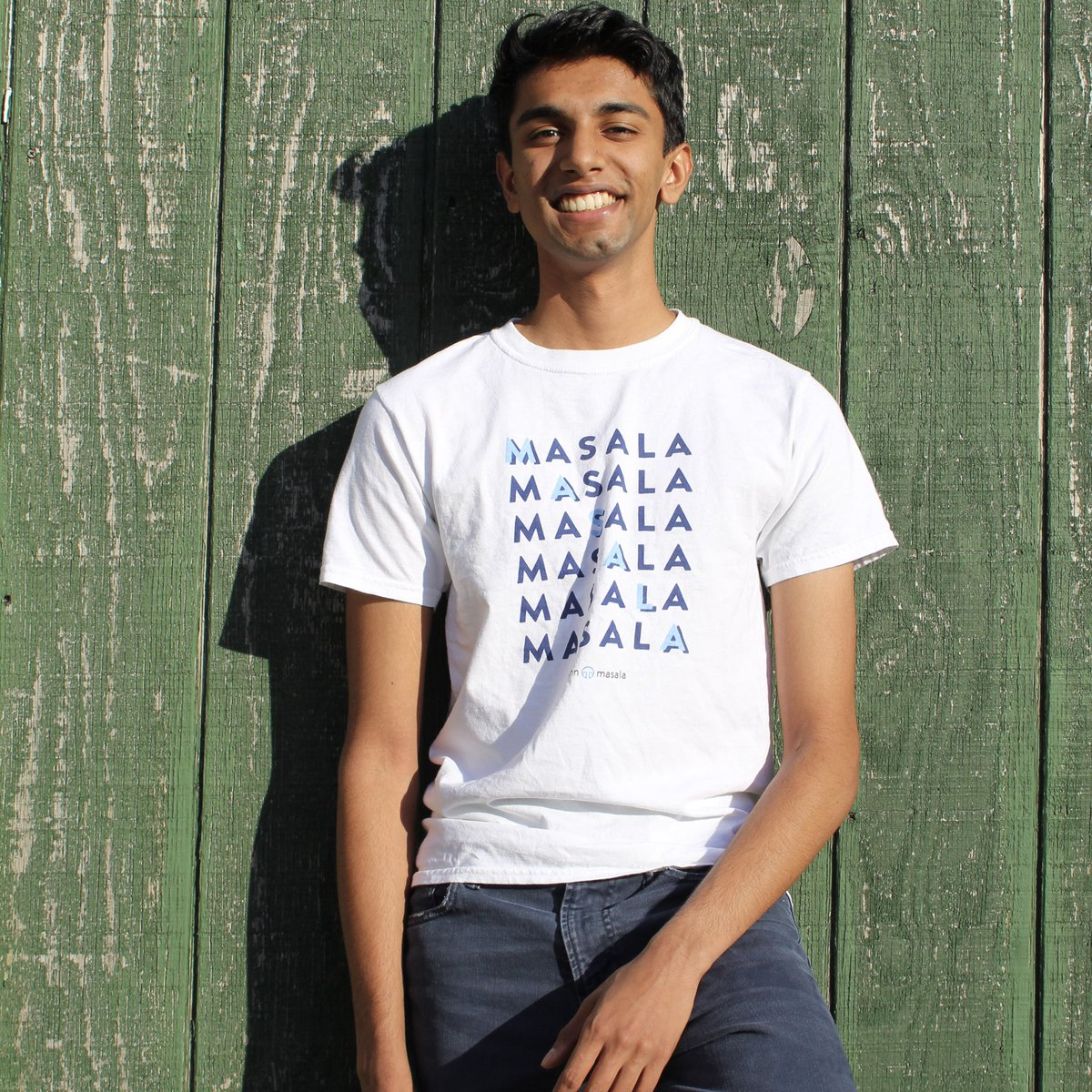 """get your masala merch at the link below! for the next 3 days, use the code """"MASALA20"""" to get 20% off 😳"""