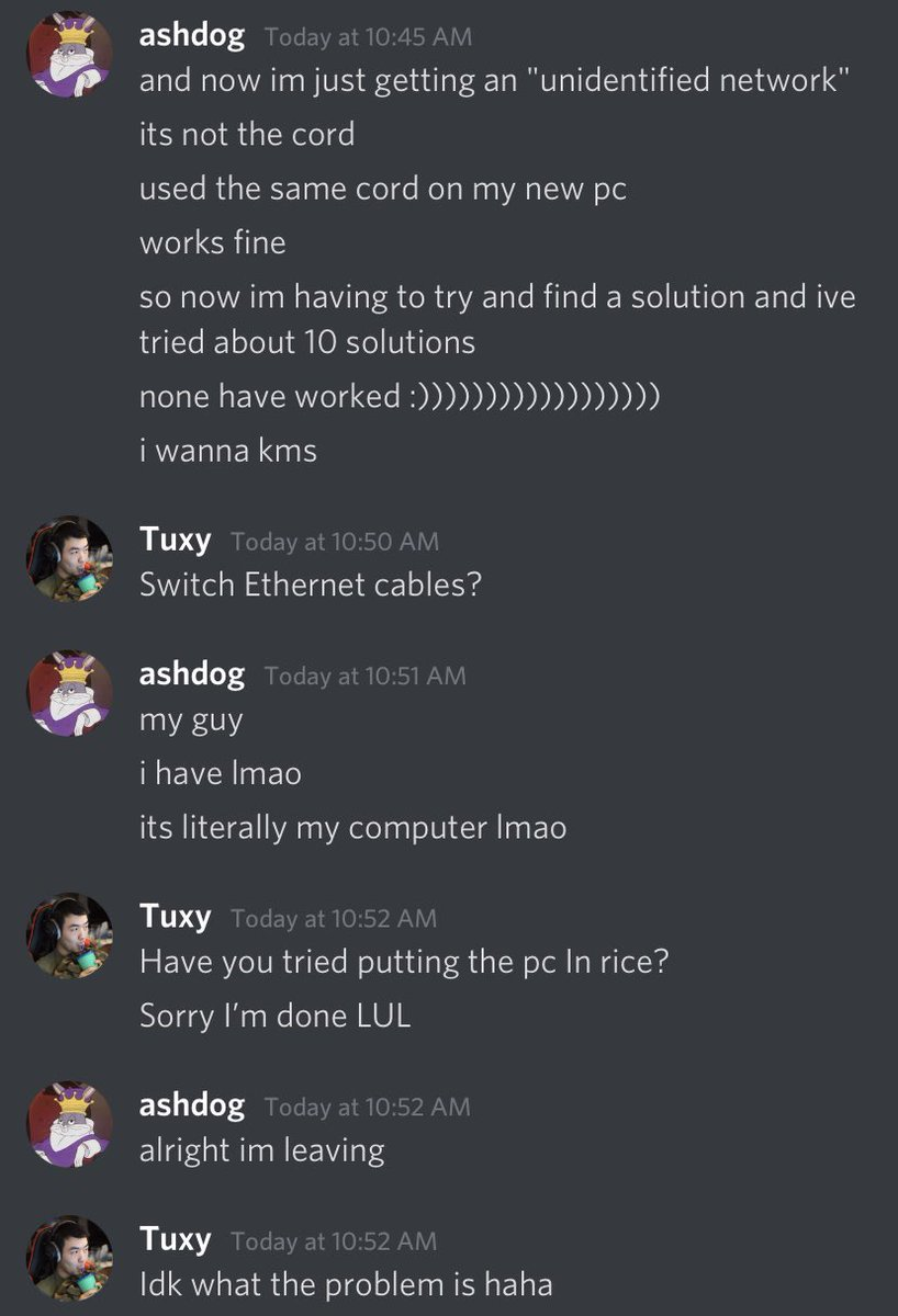 Tuxy - I am the best at tech support :)