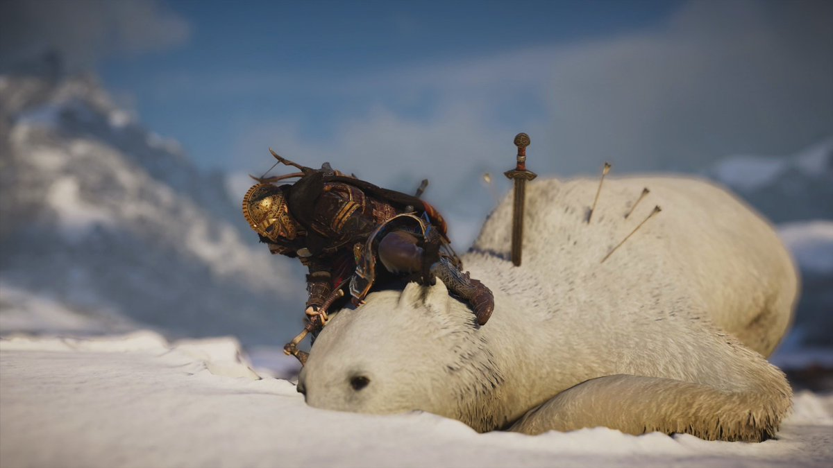 Jade PG - Poor bear! Peta needs to do something about the senceless killing of these creatures #AssassinsCreedValhalla