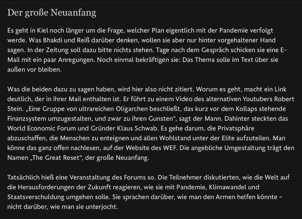 """Coronaleugner Sucharit Bhakdi und Karina Reiß (""""Corona Fehlalarm?"""") verweisen auf den Verschwörungsschwurbler Robert Stein von Nuoviso  🤪 https://t.co/a26Az0QY5T https://t.co/udpopQjUVN"""