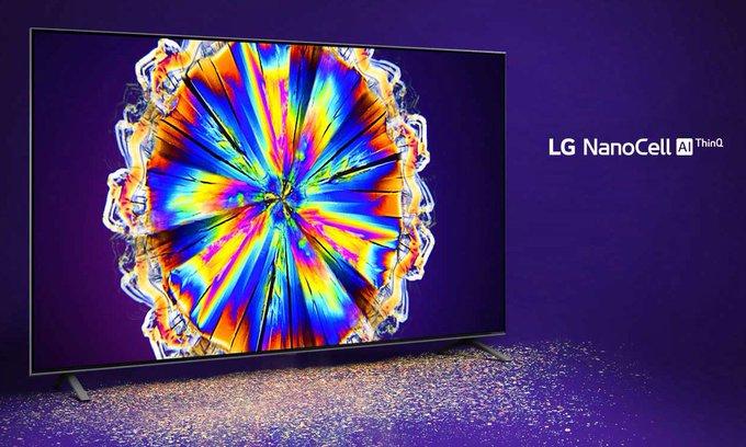 "LG 55NANO85UNA Alexa Built-In NanoCell 85 Series 55"" 4K Smart UHD NanoCell TV (2020)   On sale starting at $696.99  (Reg. $849.99)    #ad #lg #nanocell #4k #cybermonday"