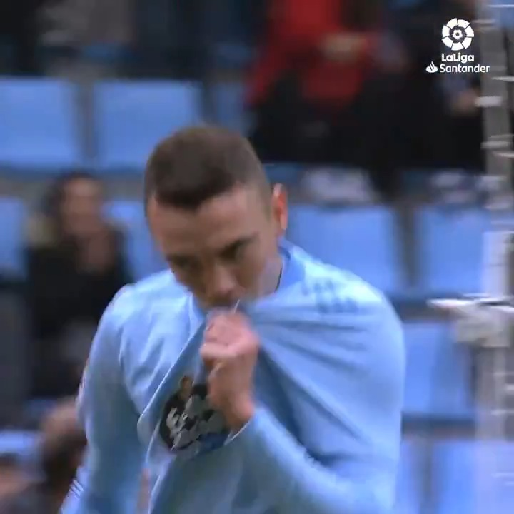 #OnThisDay 2 years ago, @aspas10 scored this stunning brace for @RCCeltaEN in #LaLigaSantander! ⚽️💙⚽️  (Spoiler: the second goal is 🔥🔥🔥)   #YouHaveToLiveIt