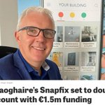 Image for the Tweet beginning: Congratulations to #DunLaoghaire based @SnapfixApp