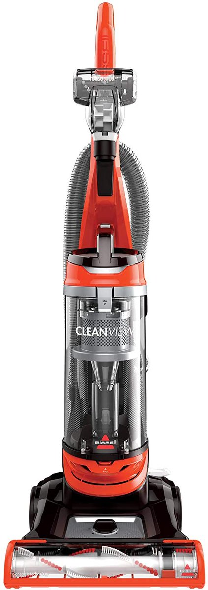 BISSELL Cleanview Bagless Vacuum Cleaner, 2486, Orange  Only $59.99!!  2