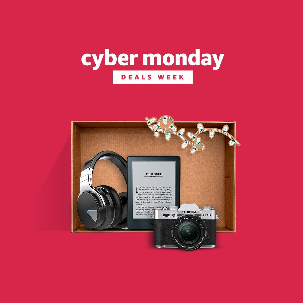 Amazon Cyber Monday lightning deals active  Click here to view all   2