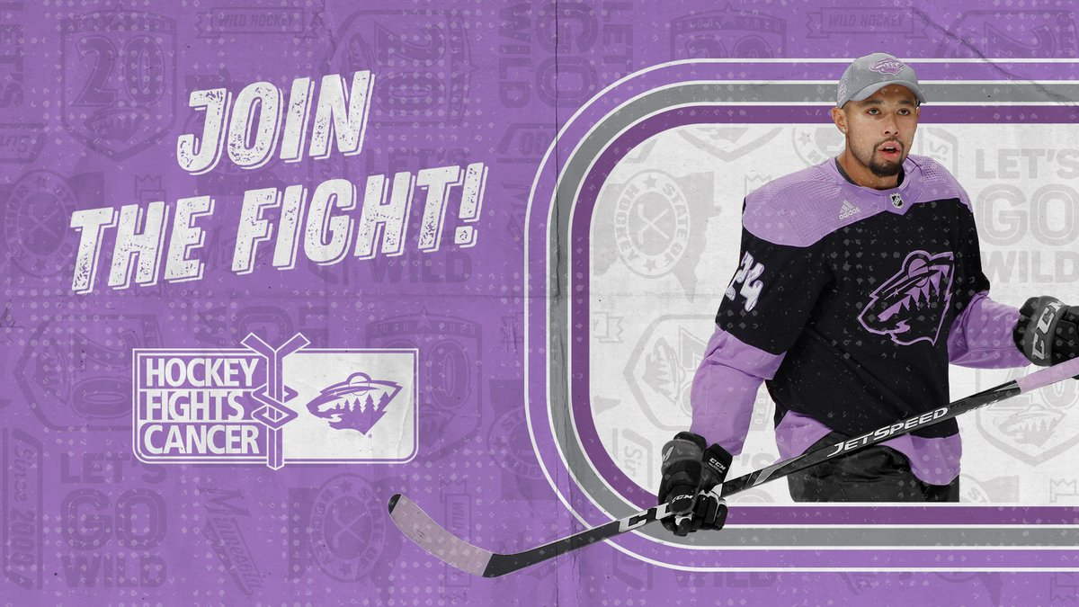 Staying in the fight with @MNHockeyFights.  Minnesota hockey teams and groups are welcome to fundraise with the Hockey Fights Cancer Assist program and will get a chance to win a special prize from the #mnwild.  More information » https://t.co/Dr2RJYhq6E https://t.co/sfMsTOJJtb