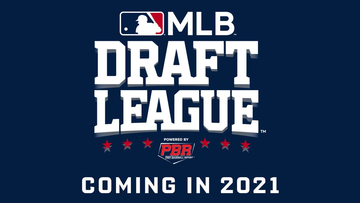 MLB, @prepbaseball and five teams in Ohio, Pennsylvania, West Virginia and New Jersey announce a new MLB Draft League for Draft-eligible prospects: https://t.co/0PstAu2WYr https://t.co/2aJOuHT5KX