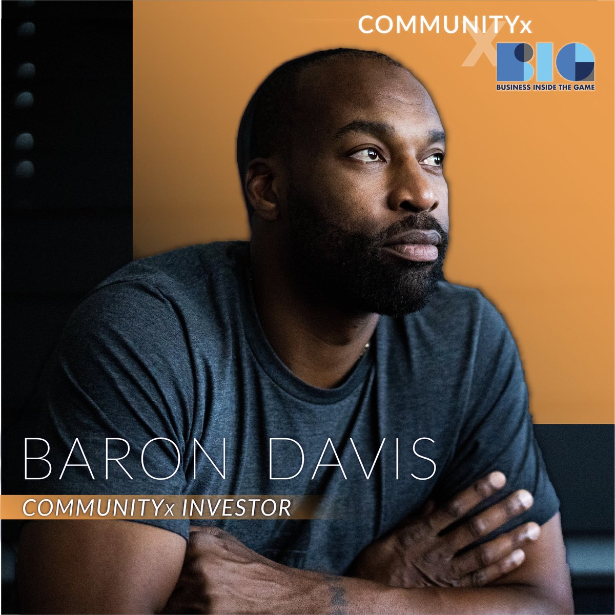 We are thrilled to announce that 2-time NBA All-Star, BIG Founder, and Venture Investor, Baron Davis, has joined our team as an Investor and Board Member. Together, we will work to create a more equitable world for all, powered by the COMMUNITYx App. DL today to #uniteforchange!