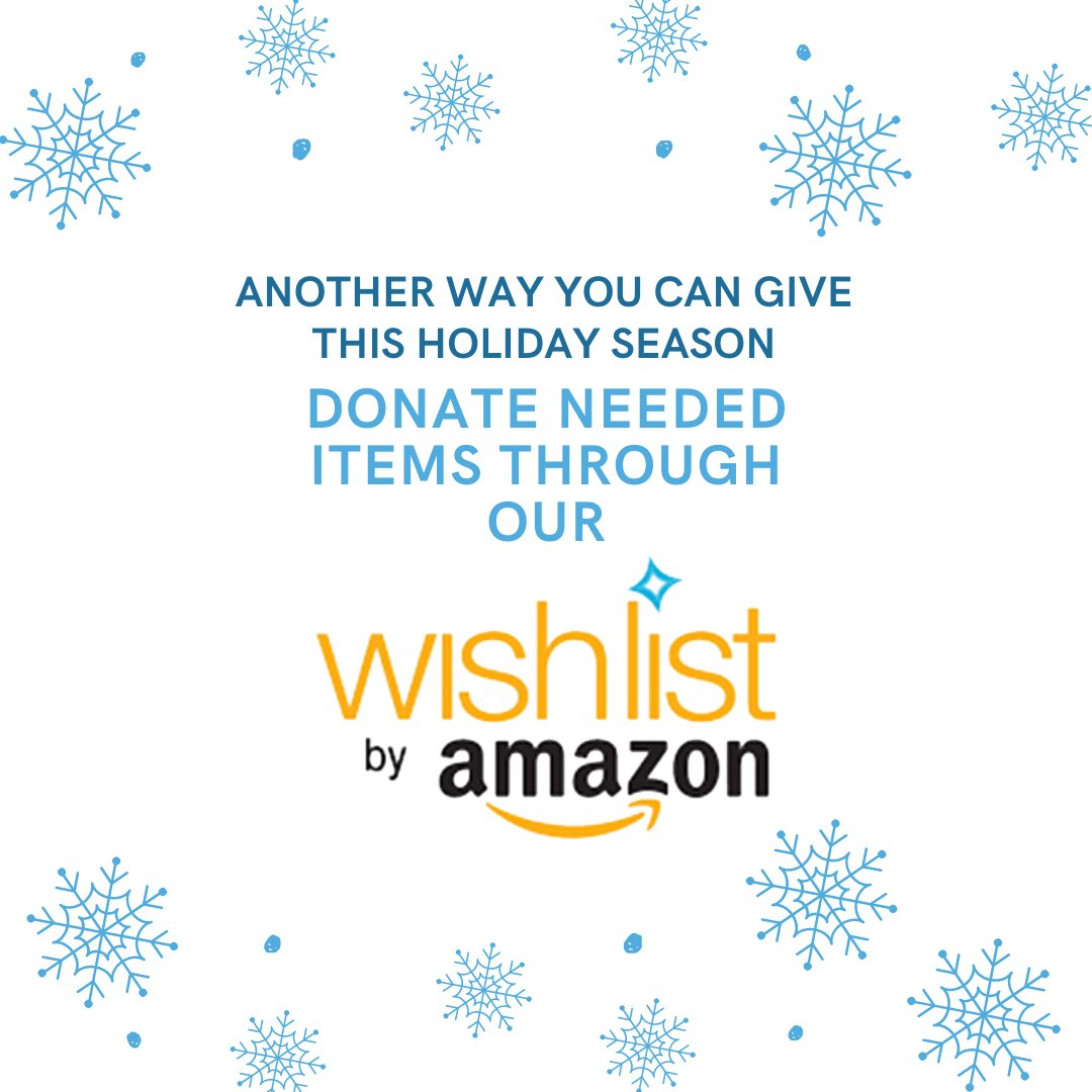 While the families staying with us are away from home, we want to be able to provide them with as many necessities as possible. This Cyber Monday help us provide for these amazing families by purchasing a needed item from our Amazon Wishlist.