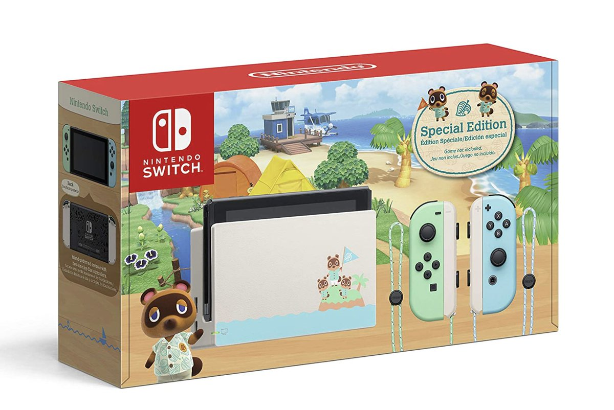 Nintendo Switch - Animal Crossing: New Horizons Edition available on Amazon  Link   2