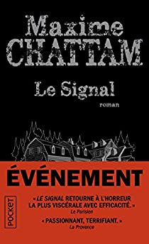 @Pocket_Editions Nouvelle critique sur Le signal de Maxime Chattam sur Babelio :