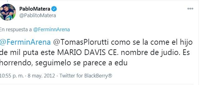 """Juan Pablo Elverdín on Twitter: """"Después de la exclusiva a Clarín en la que pide perdón por el no homenaje a Diego, el capitán de Los Pumas, Pablo Matera, debe estar borrando"""