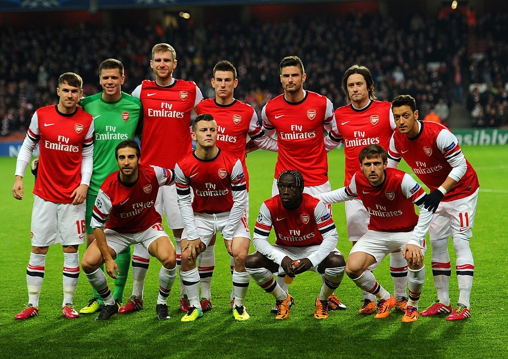 """Throwback Arsenal on Twitter: """"Arsenal team that faced Olympique de Marseille in the Champions League, 2013. Arsenal won 2-0.… """""""