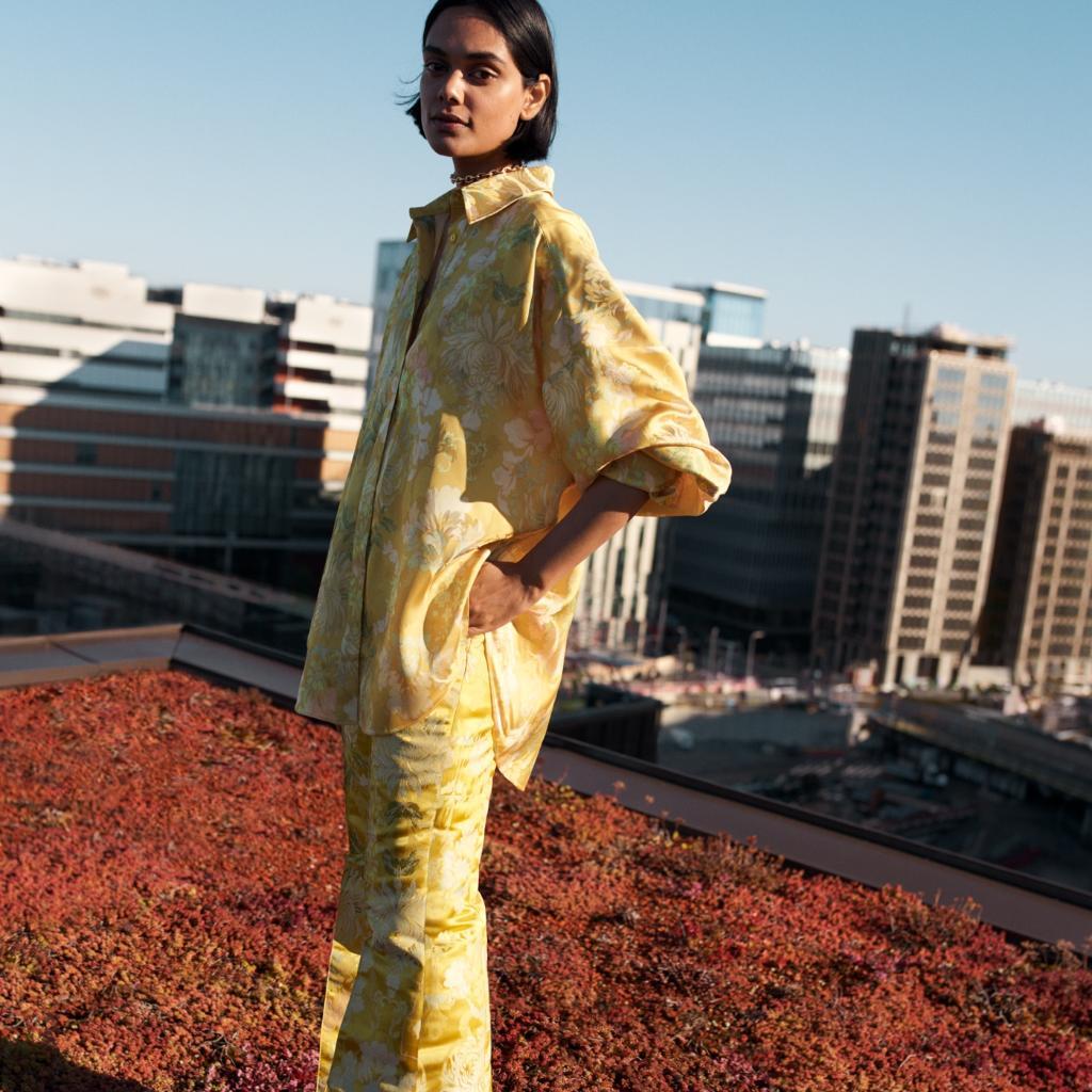 Meet ecologist, activist and H&M Conscious Exclusive A/W20 model Zinnia Kumar.  #HMConsciousExclusive