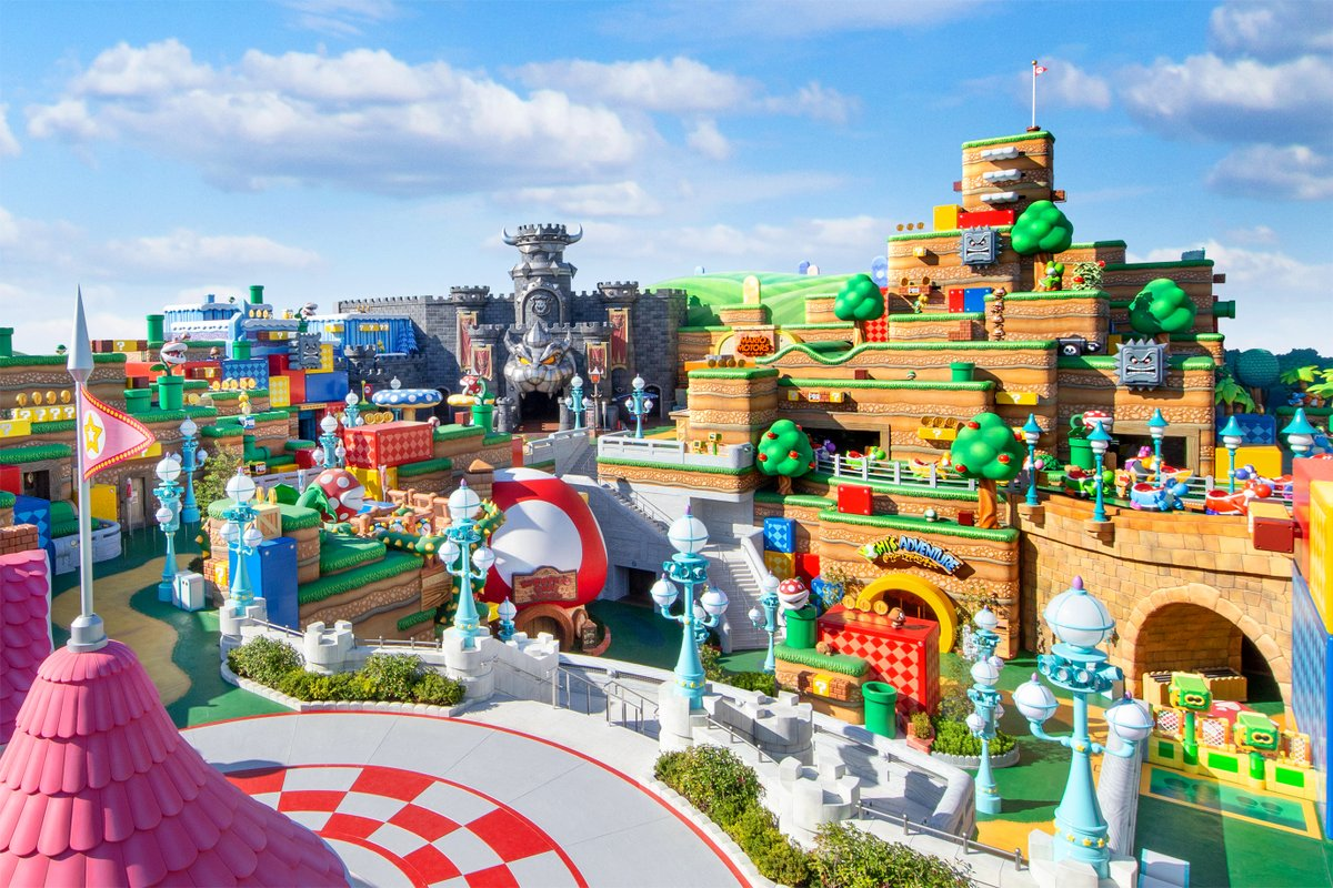The world of Nintendo games comes to life when #SUPERNINTENDOWORLD opens at Universal Studios Japan (@USJ_Official) on 2-4-21!