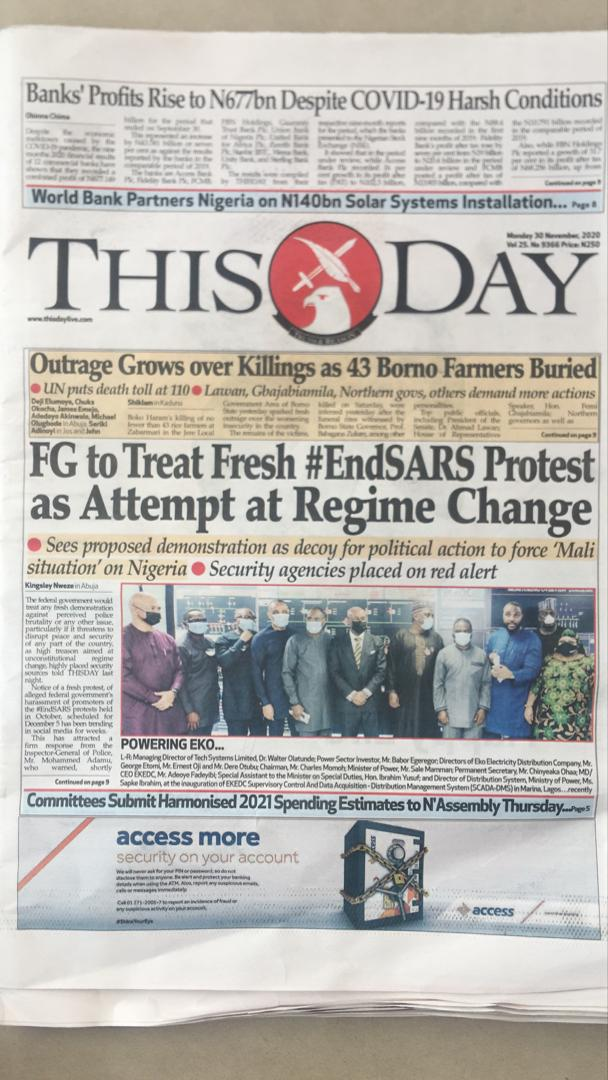 The 1999 Constitution that upholds the Union is a forgery so invalid. If the indigenous peoples of MidBelt, Oodua and Lower Niger blocs say we DON'T want to live under this illegitimate Constitution (#ForceMajeure), then all this NONSENSE will stop. #End1999Constitution #EndSARS https://t.co/NYiOwUMD4s