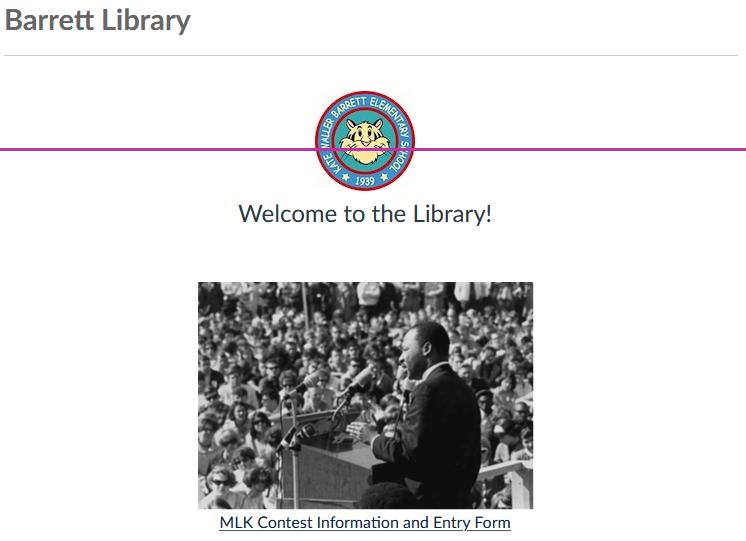 @APSVirginia 2021 Dr. Martin Luther King、 Jr。Virtual Literary and Visual Arts Contestの準備をするために、今週図書館でMartin Luther KingJr 。について読む準備をしています。 詳細とエントリーフォームについては、ライブラリキャンバスページをご覧ください。 @APSLibrarians #kwbpride https://t.co/BRXKe9WwCQ