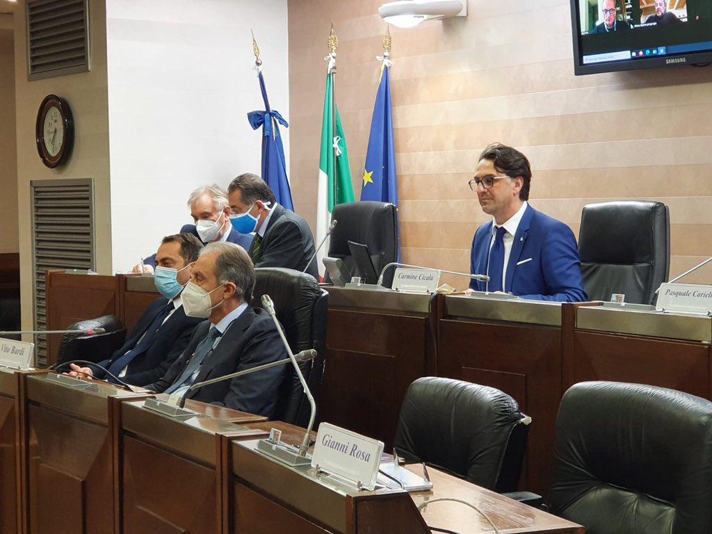 Variazione bilancio previsione 2020-2022 Regione, ...