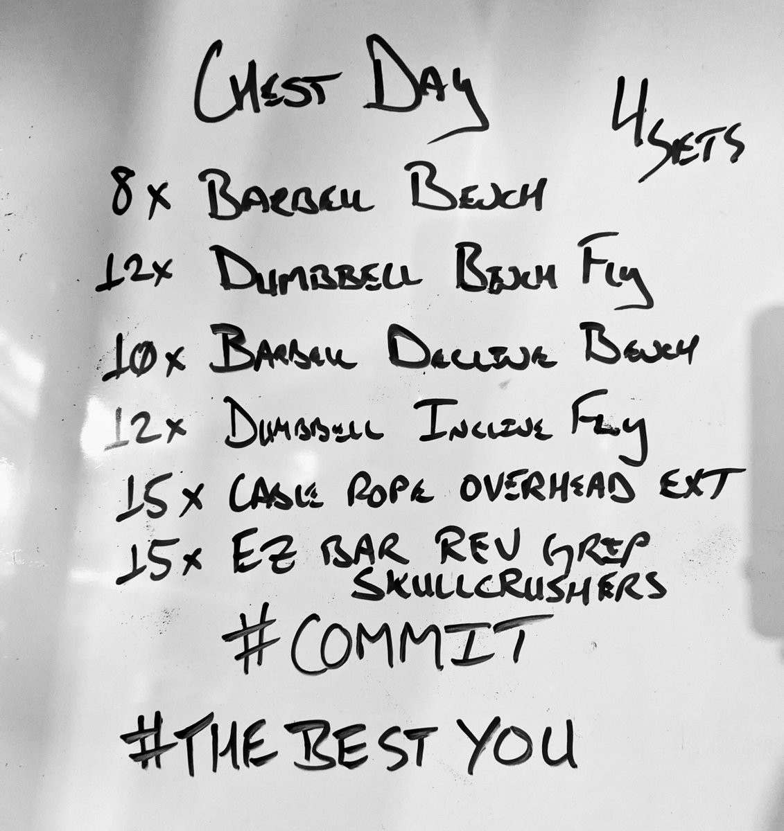 It's Monday which means it's International Chest Day.  No, it's not like a national holiday, but when the gyms were open across the states sure felt like it.  #Bands #Barbell #Dumbbell #Exercise #FranklinFitnet #LosingWeight #Strength #WeightTraining #Work https://t.co/sYyAswoo8j https://t.co/AizJ5WOTe7