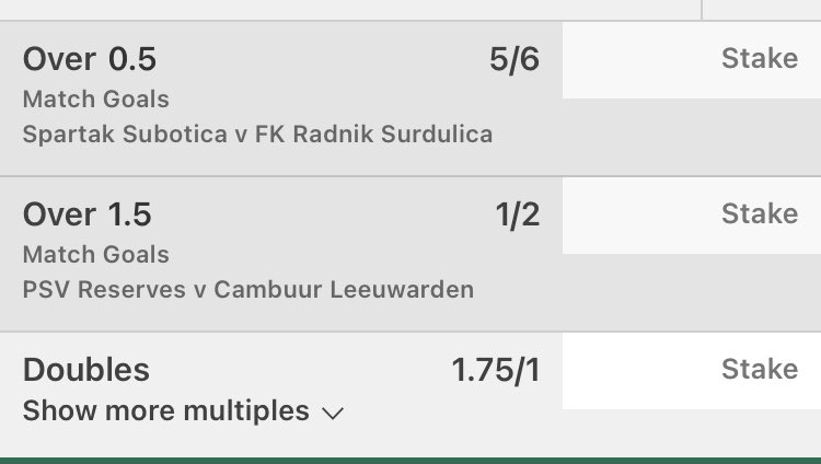 #inplay   Double   Same games, this will be November's last bet if it loses  #bettingtipster #tips #football #epl #spfl #LaLiga  #singles #inplaybet #inplay https://t.co/wYlqBJ1gxb
