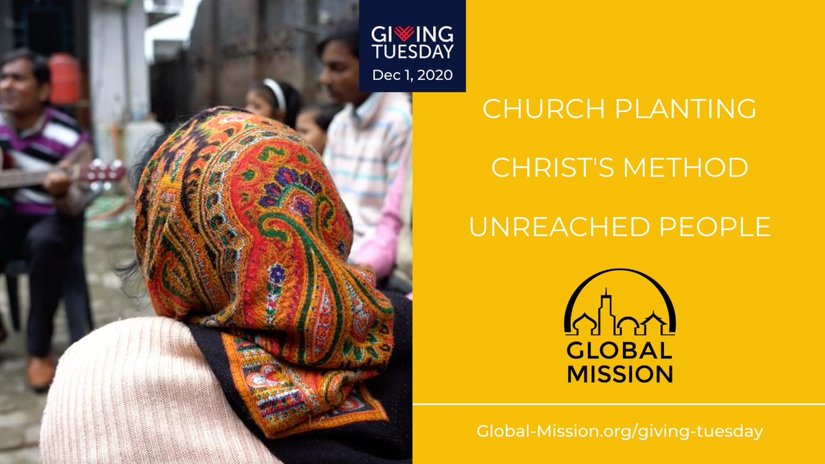 On December 1, give your support to Global Mission and help reach the unreached people in the world. Visit  . #vividfaith #livemorevivid #service #GivingTuesday #GlobalMission