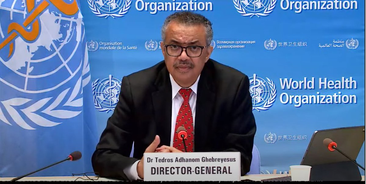 I would like to assure you that the WHO's position is very very clear. We need to know the origin of this virus because it can help us to prevent future outbreaks: Tedros Adhanom Ghebreyesus, Director-General, World Health Organization  #COVID19 https://t.co/RCjc15a9Ed