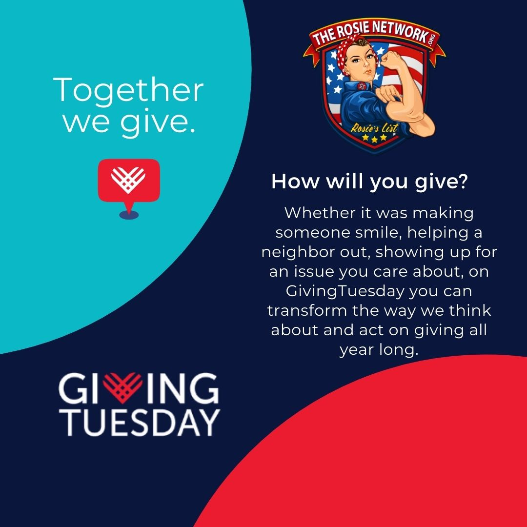 Giving Tuesday is TOMORROW.  Every act of giving matters! How will you give?   #givingtuesday