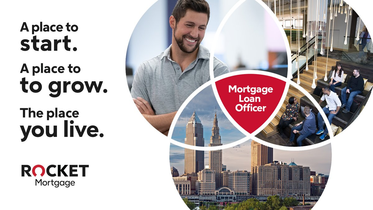 Ready for what's next? 🔥 @RocketMortgage wants you to be our next Mortgage Banker. Paid training. Cool downtown office. A career that grows with you. Become a Loan Officer in #Cleveland 🌆: https://t.co/TEueLvg5dP https://t.co/xIUTJEQbAU