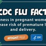 Image for the Tweet beginning: DYK: If you're #pregnant, flu