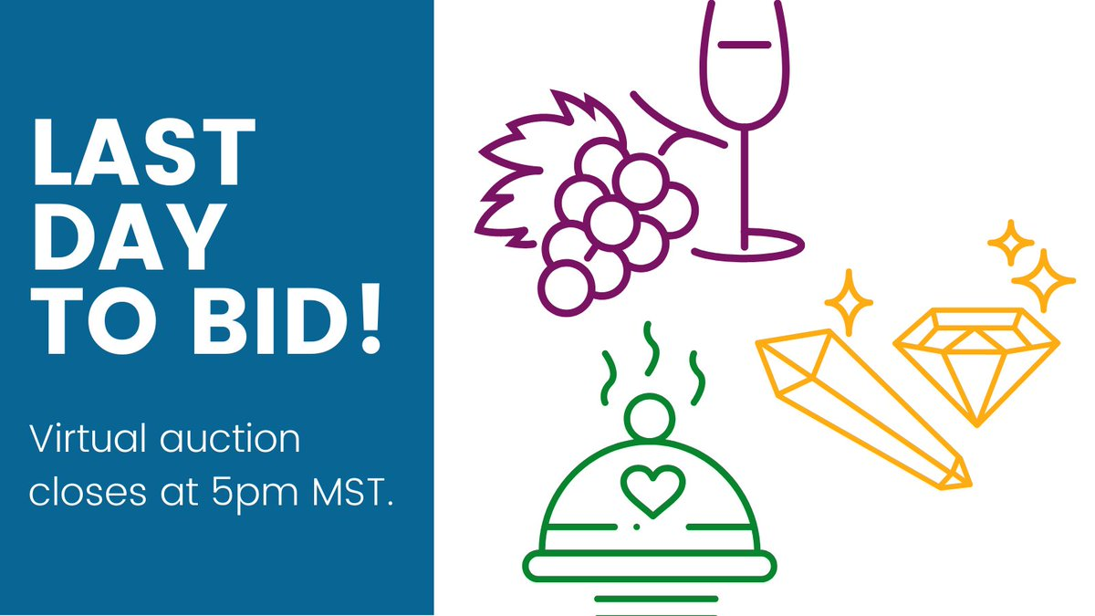 Fine wine, fine dining, and fine jewelry. There are a few hours left to bid on great holiday gifts in our virtual auction. All proceeds will go directly toward the critical needs of BVSD students! Place your bid before 5pm MST:  #cybermonday #shoplocal