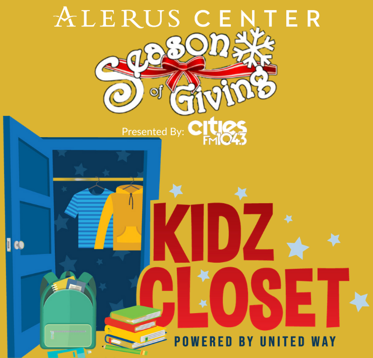 Our Kidz Closet Drive is OPEN and taking donations until Friday, December 18th 🧥 Drop off winter essentials for children at Entrance 1 for #SeasonofGiving https://t.co/Ja7xVwTpWC