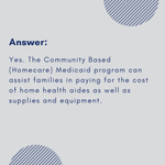 Image for the Tweet beginning: The Community Based (Homecare) Medicaid