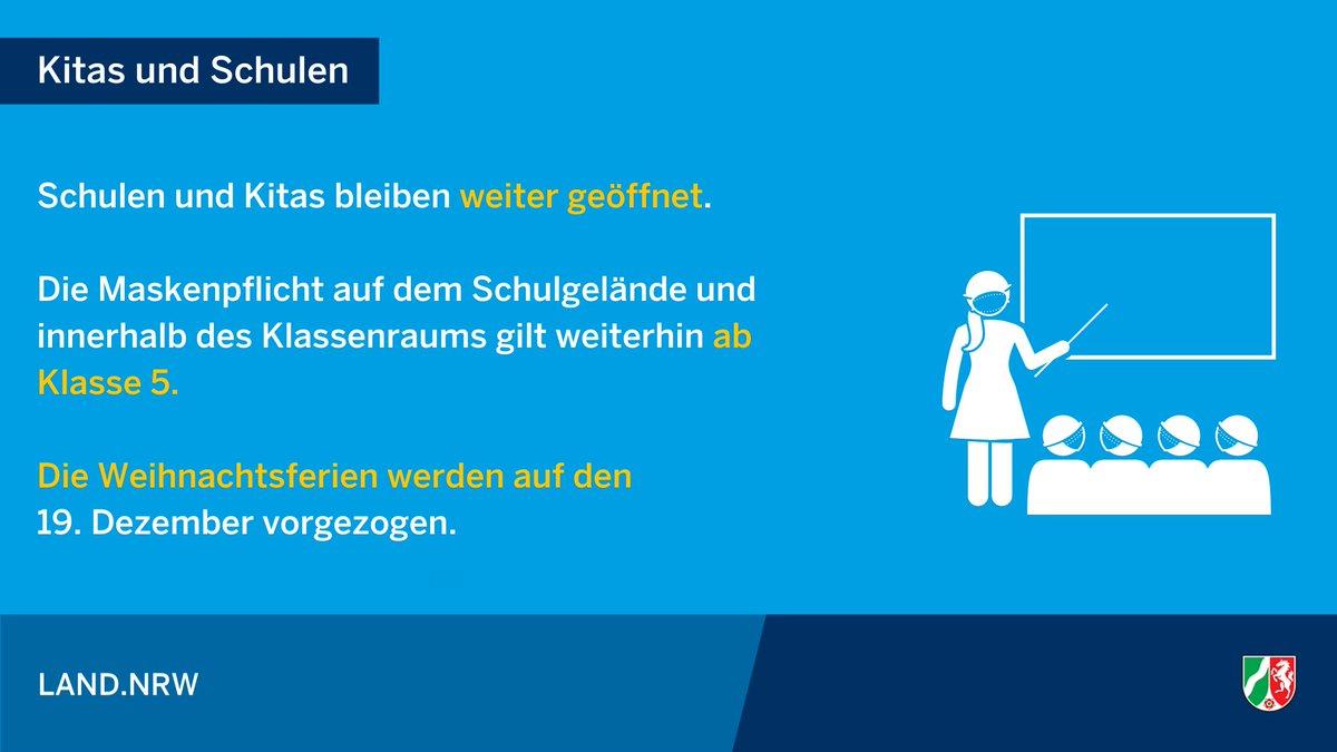 Ab 1. Dezember gilt die neue Coronaschutzverordnung für #NRW. Hier die wichtigsten Änderungen. #Corona